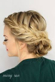 side buns for shoulder length fine hair hairstyles for thin hair 7 hairstyles that add volume thickness