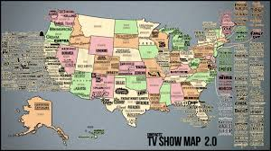 Cool Maps Of The World by Cool And Almost Complete Us Map Of Tv Shows Os 1920x1080 X