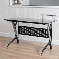 Mainstays Writing Table Glass Writing Desks You U0027ll Love Wayfair