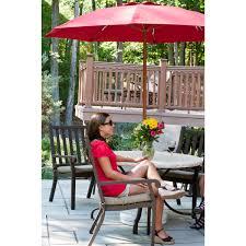 Wood Patio Umbrellas by 7 5 Ft Frankford Acrylic Fiberglass Vented Patio Umbrella No