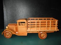 wooden pickup truck 1929 ford stake bed truck model youtube