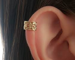cuff earring ear cuff earring helix earcuff gold filled wrap non
