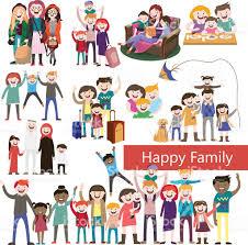 set of happy family happy stock vector 515277452 istock