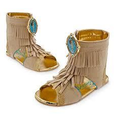 Pocahontas Costume Amazon Com Disney Store Pocahontas Costume Shoes Sandals For