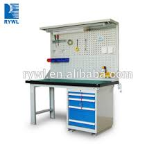heavy duty steel mechanics work bench with drawers buy work