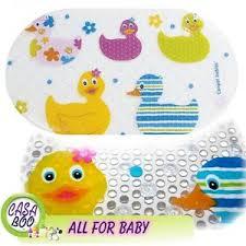 Yellow Duck Bath Rug Anti Slip Bath Mat Non Slip Suction Cups Shower Bathroom Fun Ducks