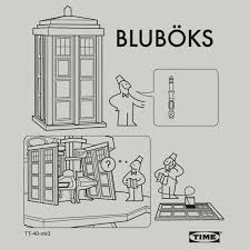 ikea bluböks tardis august 17th 2012