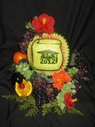 graduation fruit arrangements fruit platter can say it graduation