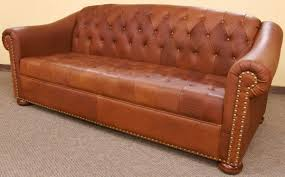 Chesterfield Tufted Leather Sofa Decor Colorado Tufted Leather Sofa With Futuristic Style For