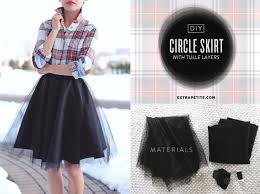 how to make tulle skirt tutorial diy circle skirt with tulle overlay