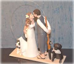 fishing wedding cake toppers sculpt u custom cake toppers thatlittlenook
