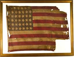Star Flags Large 42 Star Antique Flag Large Fat Stars
