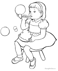 cute free kid color embroidery kids colouring