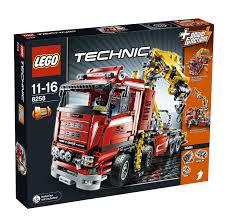 lego technic amazon com lego technic crane truck 8258 by lego toys