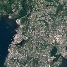 map of suva city suva suva satellite map