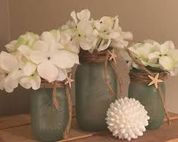 coastal centerpieces bathroom decor etsy