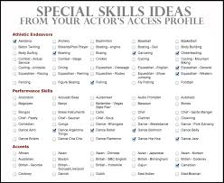 resume skills special skills on resume the best resume