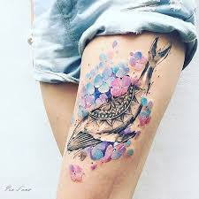 ethereal nature tattoos inspired by changing seasons bored panda