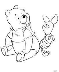 winnie pooh color disney coloring pages color plate