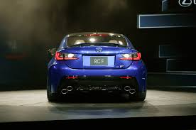 lexus rcf for sale in california 2015 lexus rc f debuts at 2014 detroit auto show automobile magazine