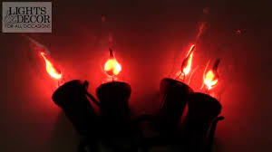 flickering flame lights youtube