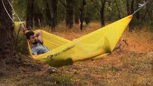 sea to summit hammock range youtube