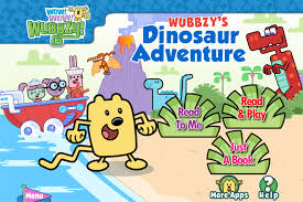 wow wow wubbzy u0027s dinosaur adventure app wired
