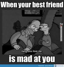 Mad At You Meme - when your best friend is mad at you memes com