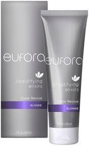 benefits of eufora hair color eufora beautifying elixirs color revive 5 oz blonde pandora beauty