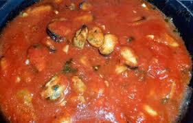comment cuisiner des moules congel馥s moules à la provençale tomate sauce piquante passiflore d