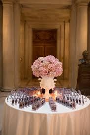 reception décor photos pink place card table centerpiece