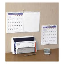 Small Easel Desk Calendar At A Glance Mini Wall Desk Monthly Calendar Servmart