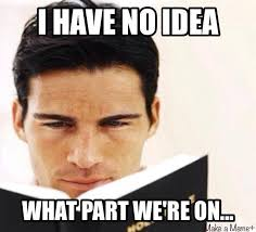 Guy Reading Book Meme - trying to find that scripture christian meme christian humour
