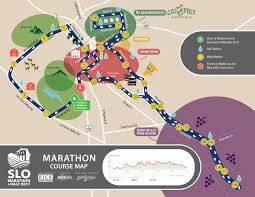 Boston Marathon Route Map by Slo Marathon Half Announces New Courses For 2017 U2013 Race Slo