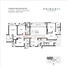 tata primanti floor plan floorplan in