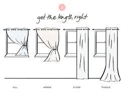 Window Length Curtains Your Guide To Window Treatments Joss U0026 Main
