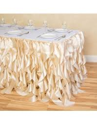Table Skirts Curly Willow Patterns