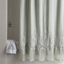 Unique Fabric Shower Curtains Curtain Shower Curtain Options Bathroom Window Curtains