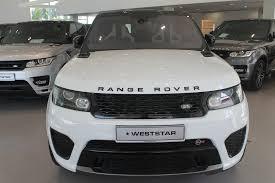 range rover white 2017 range rover sport svr 2016 white weststar motors