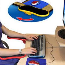 prot e bureau épaule protéger accoudoir pad bureau fixée table d ordinateur