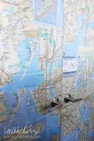 Brooklyn College Map Diy Maps On Closet Doors