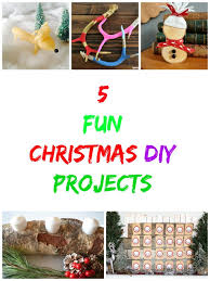 5 fun christmas diy projects christmas crafts tutorials to die
