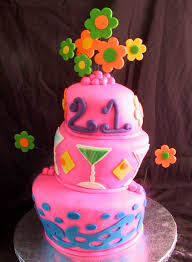fondant birthday cake whimsical topsy turvy the twisted sifter