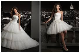 chagne wedding dresses convertible gown wedding dress would be for the party