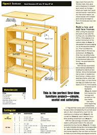 simple bookcase plans u2022 woodarchivist