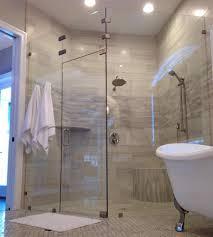 artisan shower completely frameless shower doors