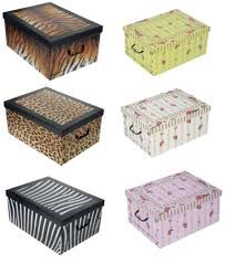 decorative cardboard storage boxes decorative cardboard storage