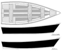 Wooden Row Boat Plans Free by 11 U0027 15 U0027 Power Row Skiffs Flat Bottom Skiffs Boatdesign