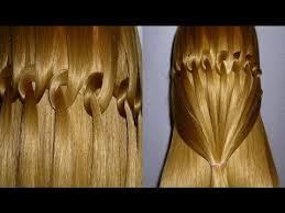 Frisuren Lange Haare Wasserfall by Flechtfrisur Wasserfall Zopf Flechten Zopffrisur Für Mittel