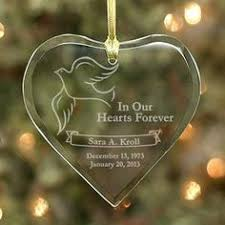 Etched Glass Ornaments Personalized Engraved Glass Stocking Ornament Personalized By Funtoseegifts